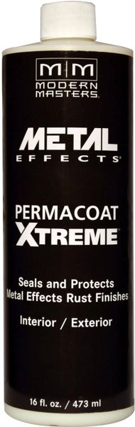 MODERN MASTERS PERMACOAT EXTREME SEALER FOR REACTIVE METALLIC 16OZ AM20416