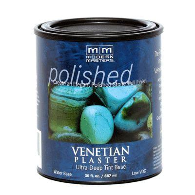 MODERN MASTERS VENETIAN PLASTER DEEP TINT BASE GALLON VP200GAL