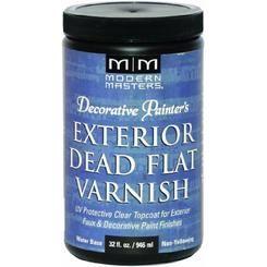 MODERN MASTERS DEAD FLAT VARNISH EXTERIOR QT DP61232