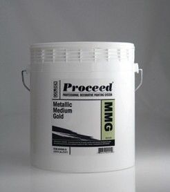 GOLDEN PROCEED METALLIC MEDIUM GOLD GALLON