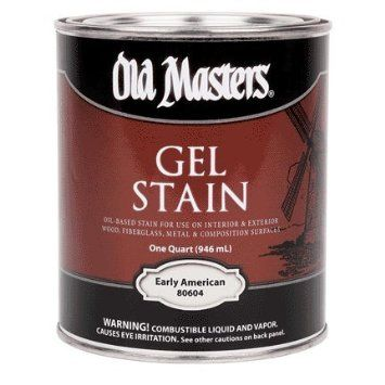 OLD MASTERS GEL STAIN QT EARLY AMERICAN 80604