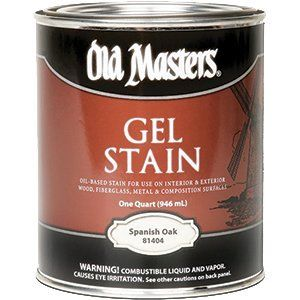OLD MASTERS GEL STAIN QT SPANISH OAK 81404