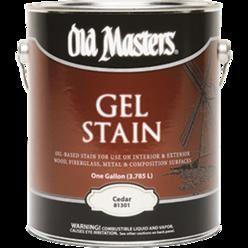 OLD MASTERS GEL STAIN QT CEDAR 81304