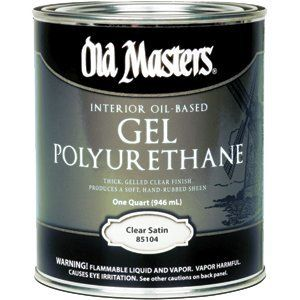 OLD MASTERS GEL SATIN VARNISH QT 85104