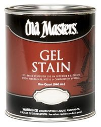 OLD MASTERS GEL STAIN QT NATURAL 80104