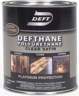 DEFT DEFTHANE POLYURETHANE SATIN INT/EXT QT 02504