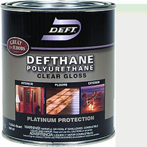 DEFT DEFTHANE POLYURETHANE GLOSS INT/EXT QT 02004