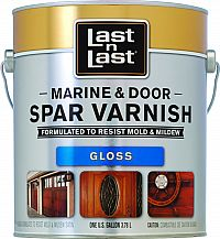 ABSOLUTE LAST N LAST MARINE & DOOR SPAR VARNISH GLOSS GALLON 50701
