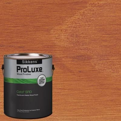SIKKENS PROLUXE CETOL SRD 045 MAHOGANY EXTERIOR STAIN GALLON