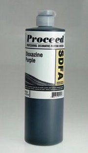 GOLDEN PROCEED SLOW DRY FLUID ACRYLIC DIOXAZINE PURPLE 16OZ