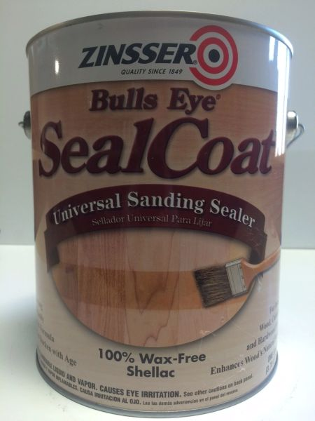ZINSSER SEALCOAT UNIVERSAL BRUSHABLE SANDING SEALER GALLON 00851
