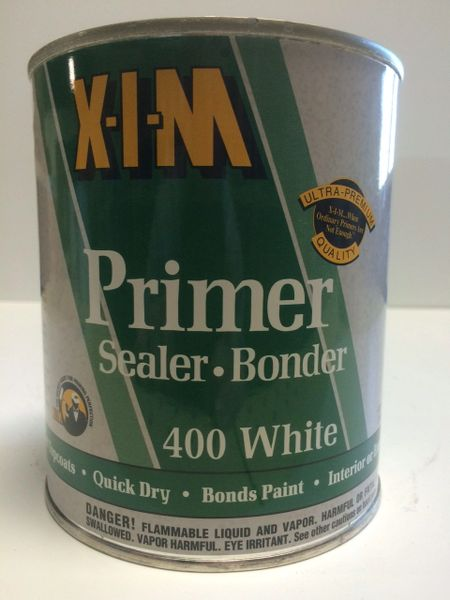 XIM 400W WHITE FLASH BOND PRIMER QUART 11022