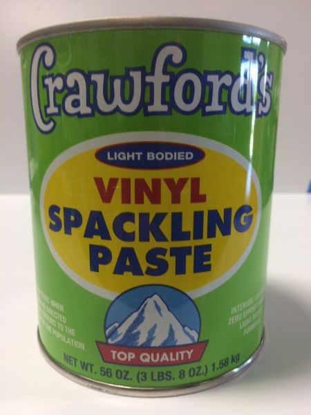 CRAWFORD'S SPACKLING PASTE QT 31904