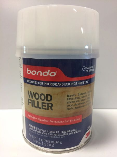3M BONDO WOOD FILLER QT 20082