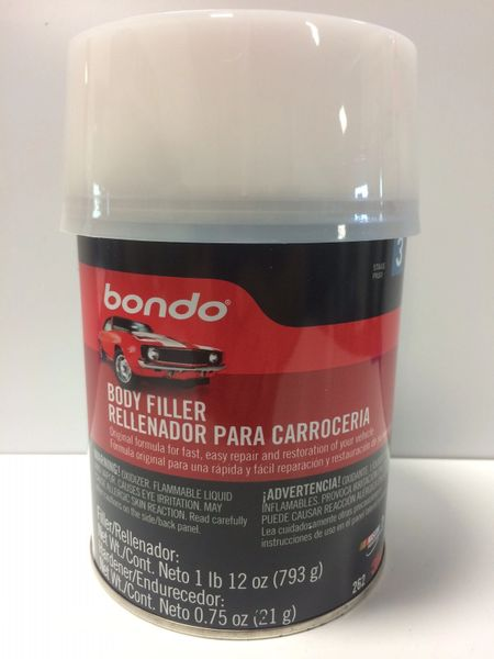 3M BONDO BODY FILLER QT 00262