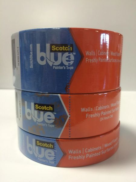 3M SAFE RELEASE (60 DAY) BLUE TAPE 2080 1 1/2''