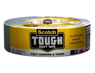 3M TOUGH DUCT TAPE 2'' POLY HANGING