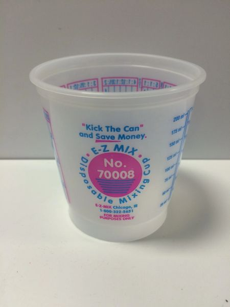 E-Z MIX 8OZ PLASTIC CUP