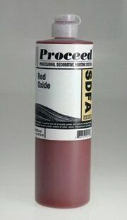 GOLDEN PROCEED SLOW DRY FLUID ACRYLIC RED OXIDE 16OZ