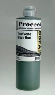 GOLDEN PROCEED SLOW DRY FLUID ACRYLIC TERRE VERTE GREEN HUE 8OZ
