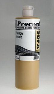 GOLDEN PROCEED SLOW DRY FLUID ACRYLIC YELLOW OXIDE 8OZ