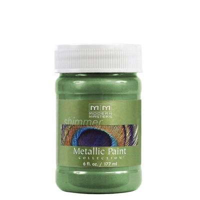 MODERN MASTERS MYSTICAL GREEN METALLIC 6OZ ME43406