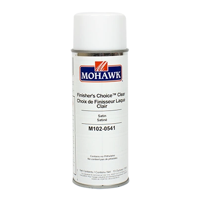 MOHAWK FINISHERS CHOICE CLEAR AEROSOL CANS M102-XXXX