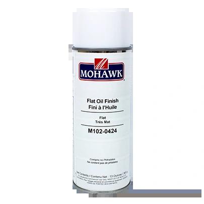 MOHAWK FLAT OIL FINISH CLEAR AEROSOL CANS M102-0424