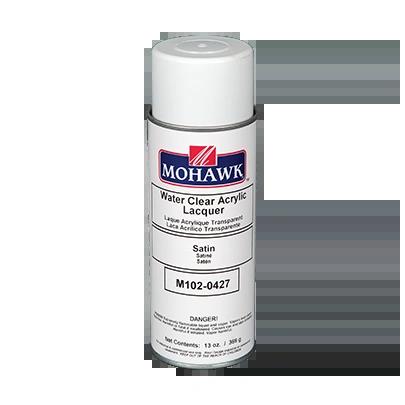 MOHAWK WATER CLEAR ACRYLIC AEROSOL CAN M102-XXXX