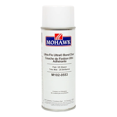 MOHAWK ULTRA FLO ULTRA BOND CLEAR AEROSOL CAN M102-XXXX