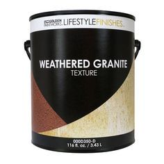 GOLDEN PROCEED WEATHERED GRANITE GALLON