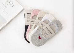 Eva Brown Summer Socks