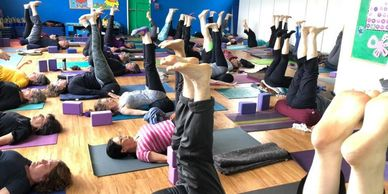 Hatha Yoga Iyengar style, level 1-2, every Saturday 9:30 am-10:45 at the YMCA in Albany on Solano.