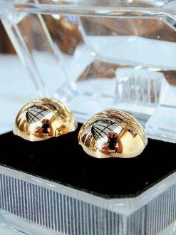 Ben Wa Balls, Metal (Gold)