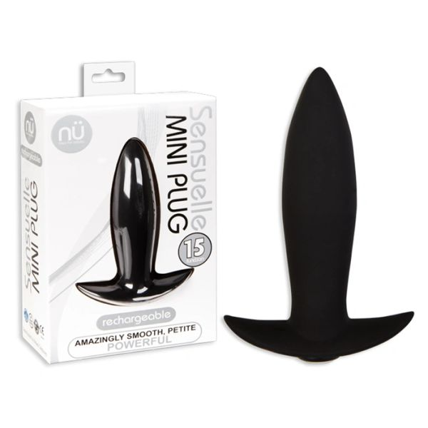 Sensuelle Mini Plug Black