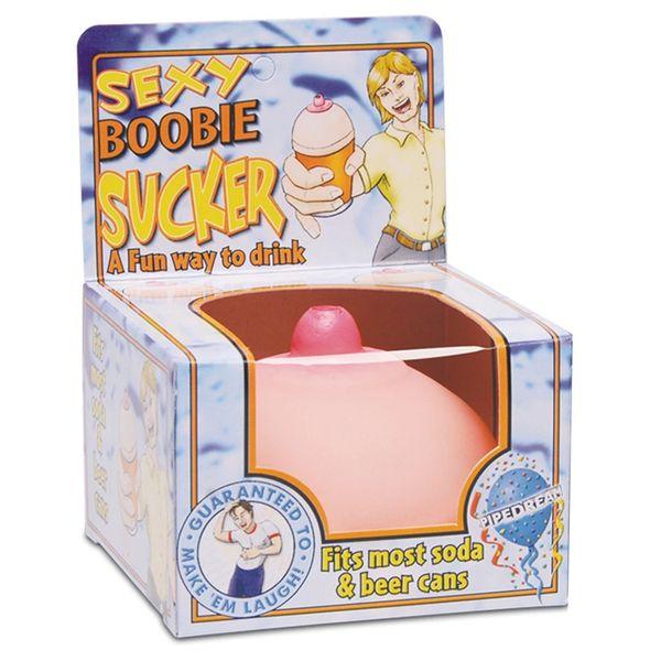 Sexy Boobie Sucker Drink Lid