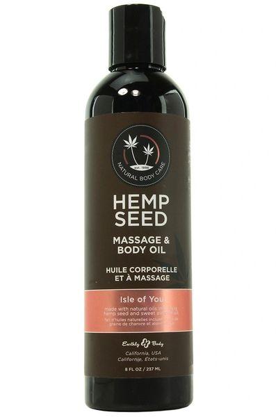 Hemp Seed Massage & Body Oil (8 Scents)