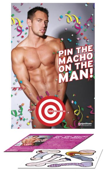 Pin the Macho on the Man!