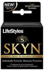 Lifestyles SKYN Condoms Latex Free 3 Pack