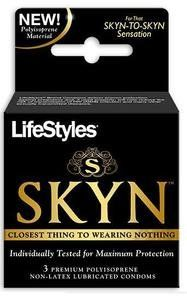 Lifestyles SKYN Condoms Latex Free 3 Pack