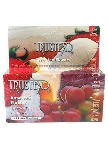 Trustex Box 12 Assorted Flavours Condoms