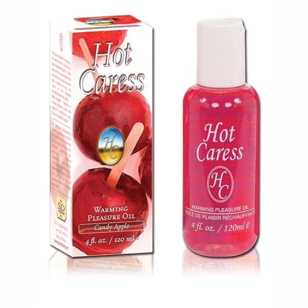 Hot Caress Warming Pleasure Oil (23 Flavours)
