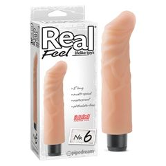 "Real Feel 8"" No. 6 Curved FantaFlesh (3 Colours)"
