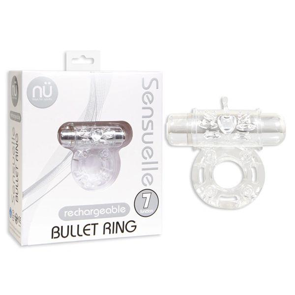 Sensuelle Bullet Cock Ring