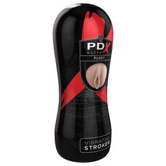 PDX ELITE Vibrating Stroker Pussy