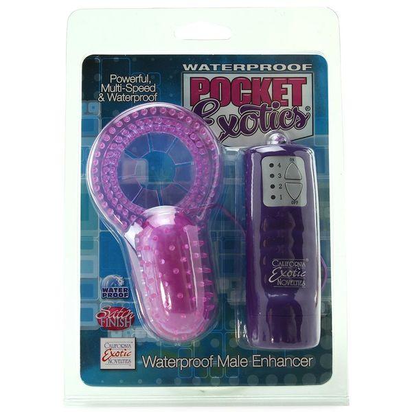 Pocket Exotics Waterproof Male Enhancer Cock Ring
