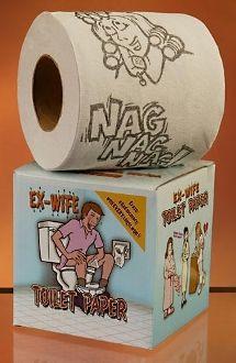Ex-Wife Toilet Paper