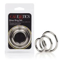 Calexotics 3 Silver Ring Set