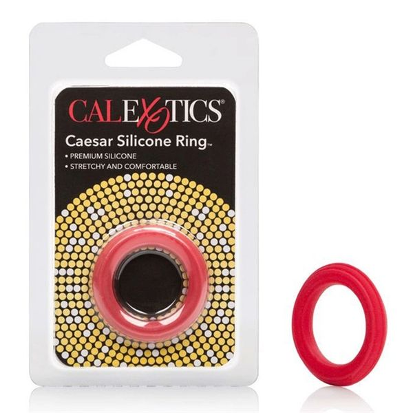 Caesar Silicone Ring - Red