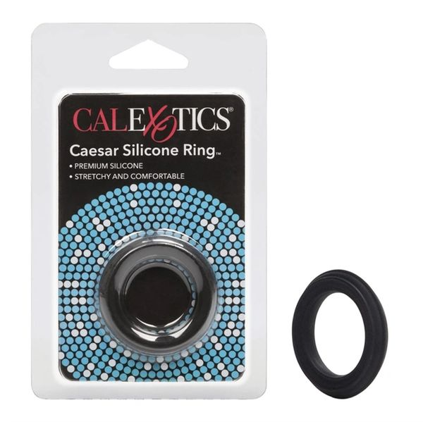 Caesar Silicone Ring - Black